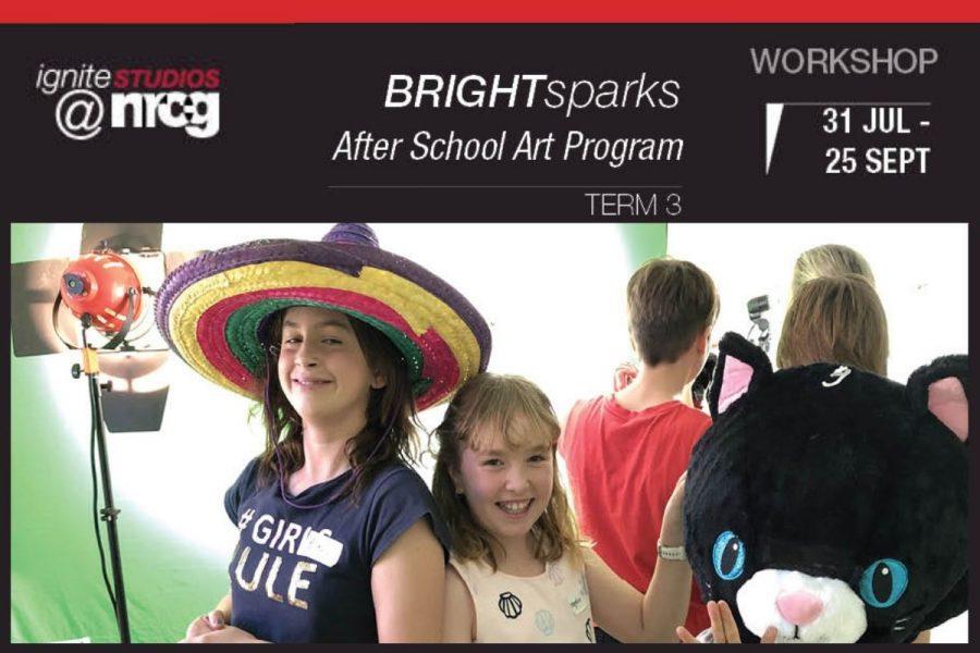 Bright Sparks After School Art Program - Term 3 2019