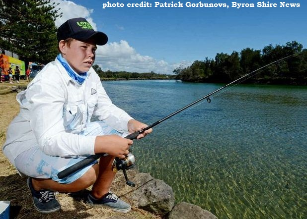 Kids Fishing Comp - Festival of the Fish 'n' Chips & Wood Chop Carnival