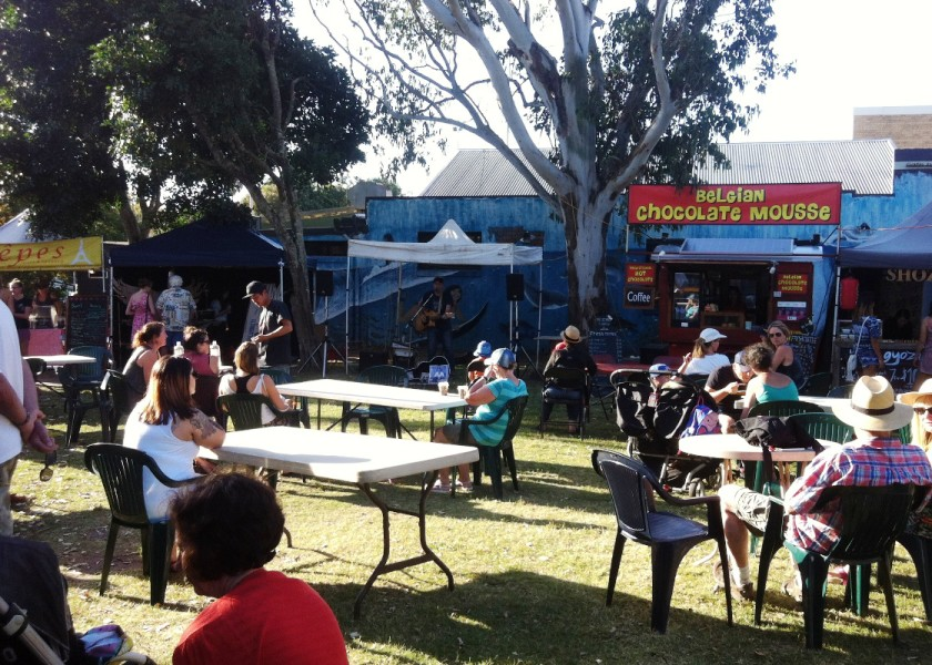 Byron Artisan Market - Food & Music