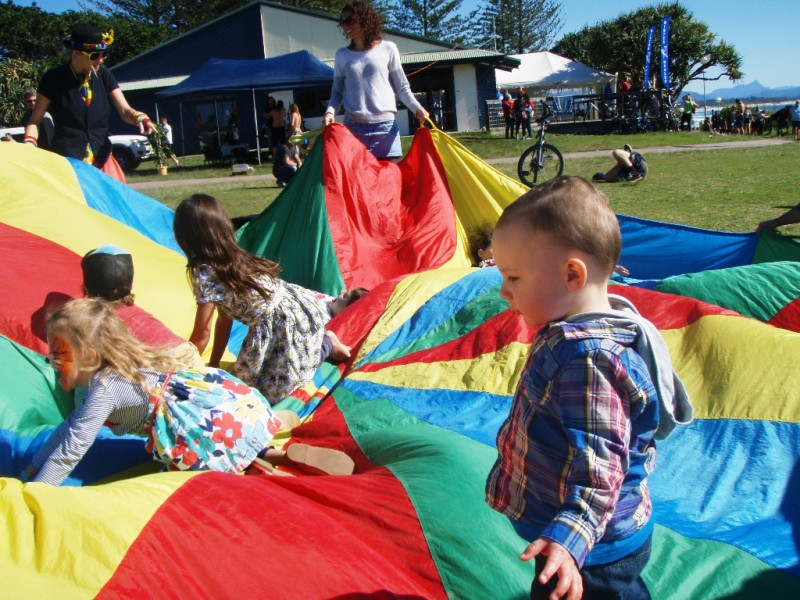 Byron Bay Beachside Market - Kids activities