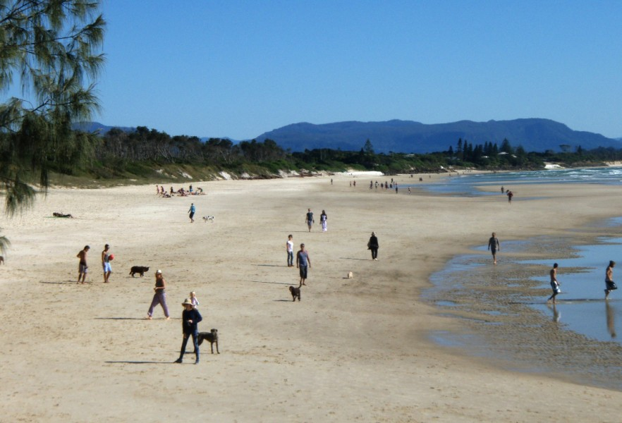 Belongil Beach