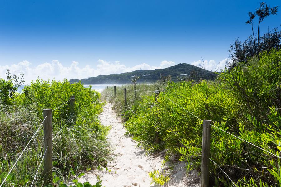 Clarkes Beach Entrance