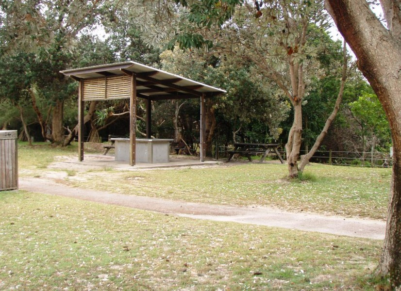 Clarkes Beach Barbecue Facilities