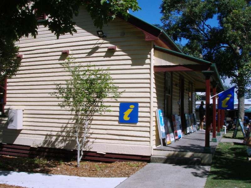Byron Visitor Centre, Tourist Information Railway Park, Byron Bay