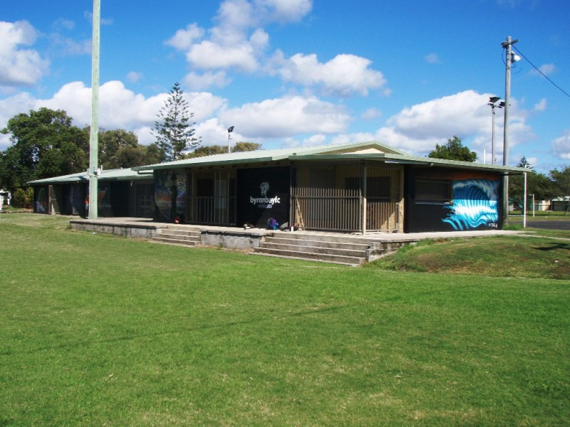 Amenities Block, Byron Bay Recreation Grounds, Tennyson St