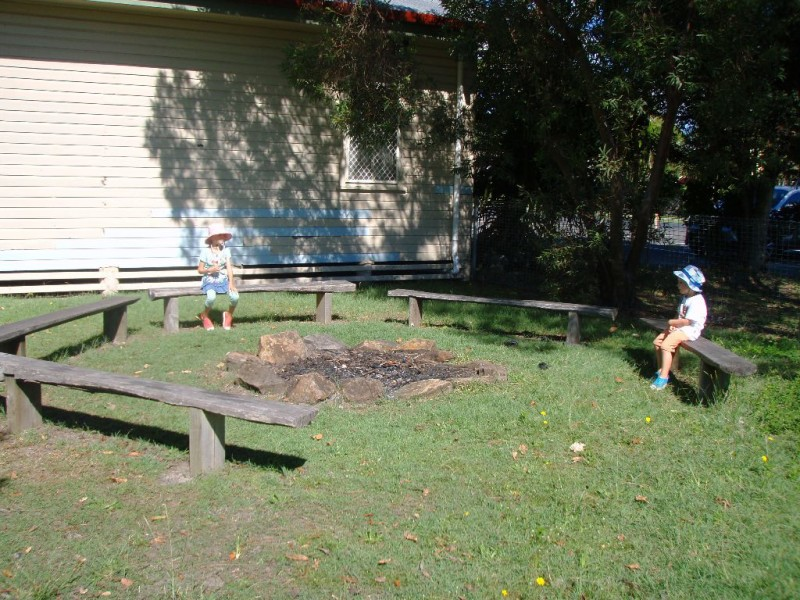 Campsite Seating, Byron Bay Recreation Grounds, Tennyson St