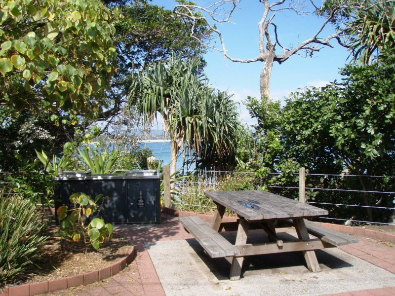 Picnic Tables at The Pass, Byron Bay