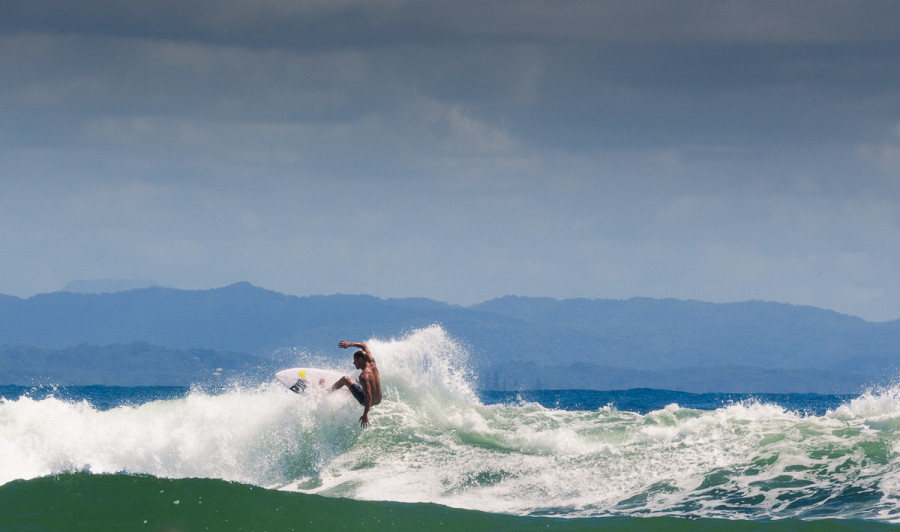 Surfers at The Pass, Byron Bay