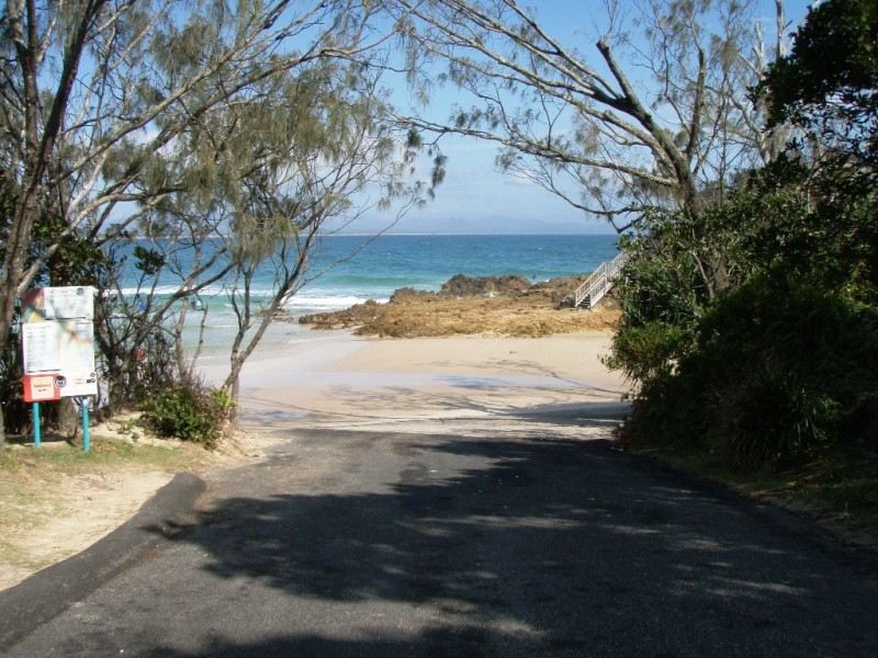 The Pass - Boat ramp entrance