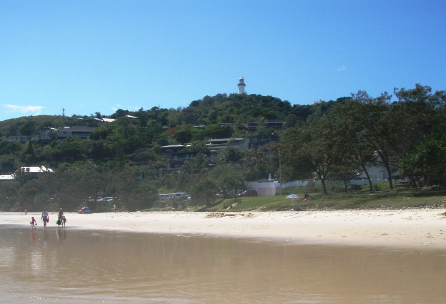 Lighthouse from Watgeos Beach, Byron Bay