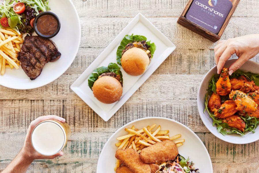 Ocean Shores Tavern Dining Options