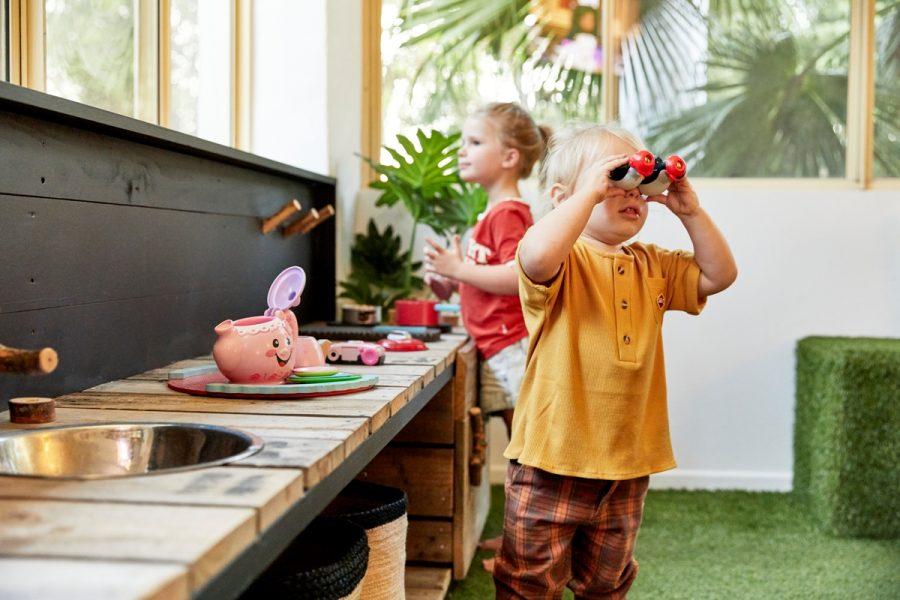 Ocean Shores Tavern Indoor Kids Play Area & Mud Kitchen