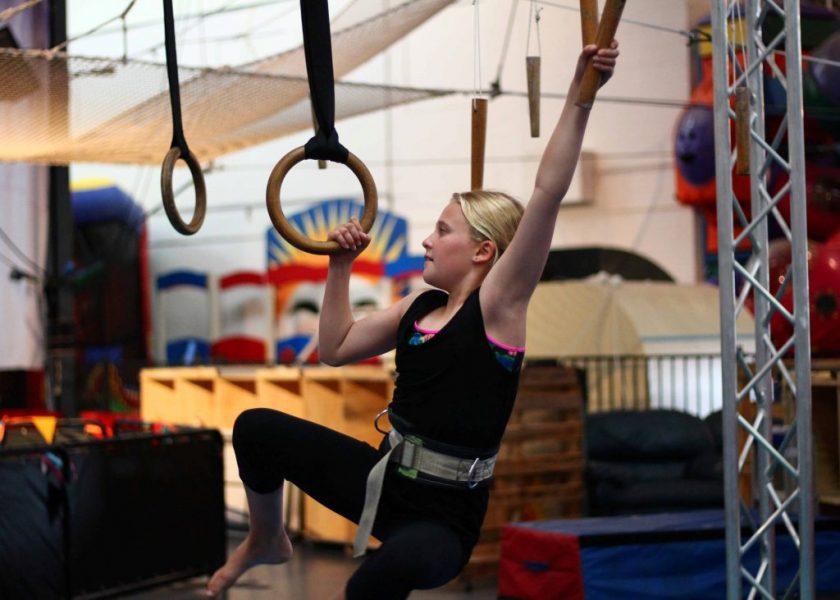 Circus Arts - Teen Ninja / Parkour Class