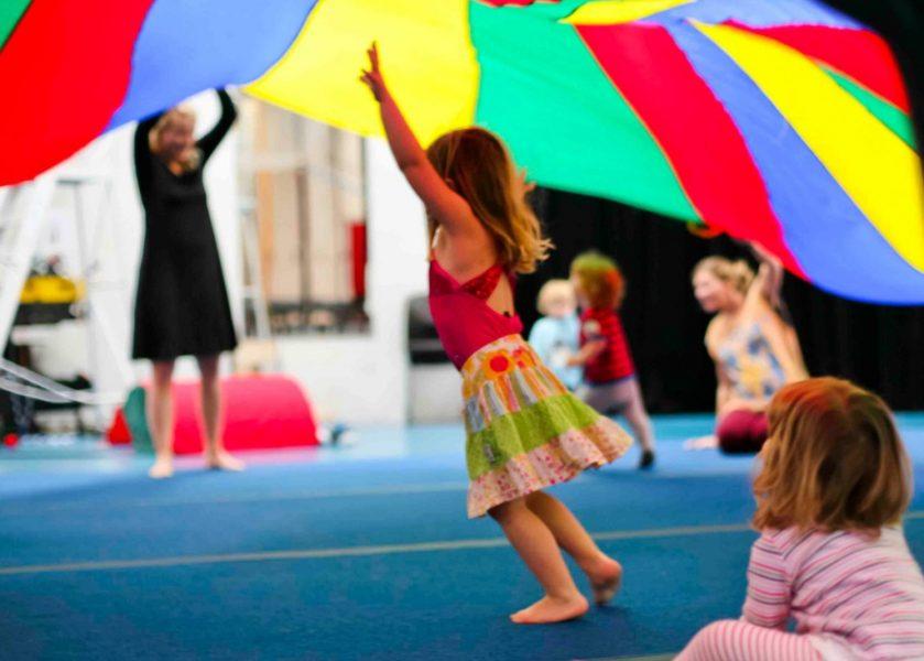 Circus Arts - Kinder Circus Class