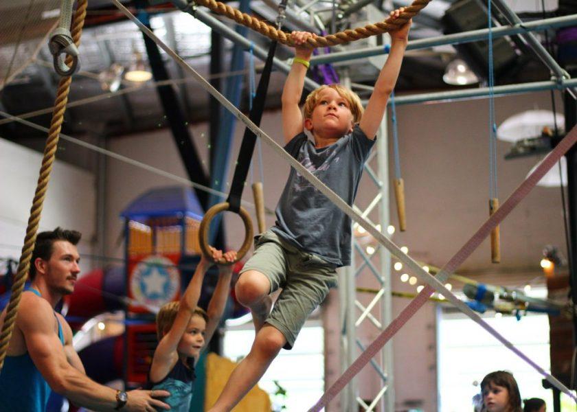Circus Arts -Holiday Ninja Program