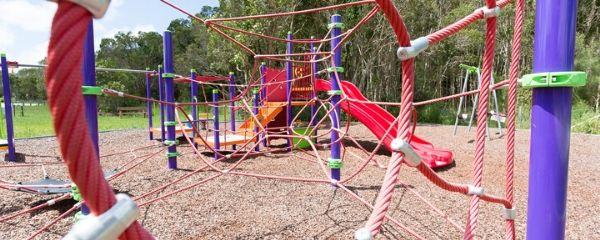 playground reopened