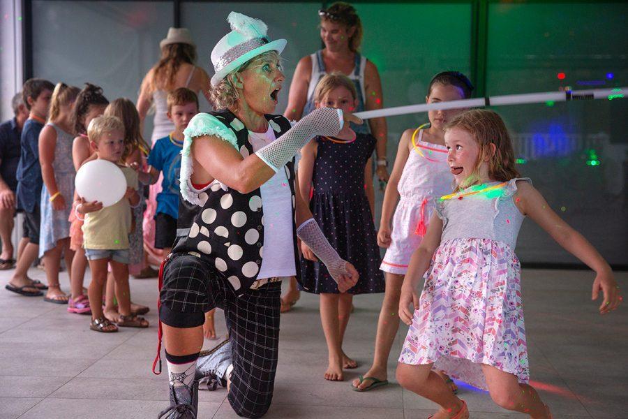 Shorty Brown Clown - Kids Disco Byron Bay