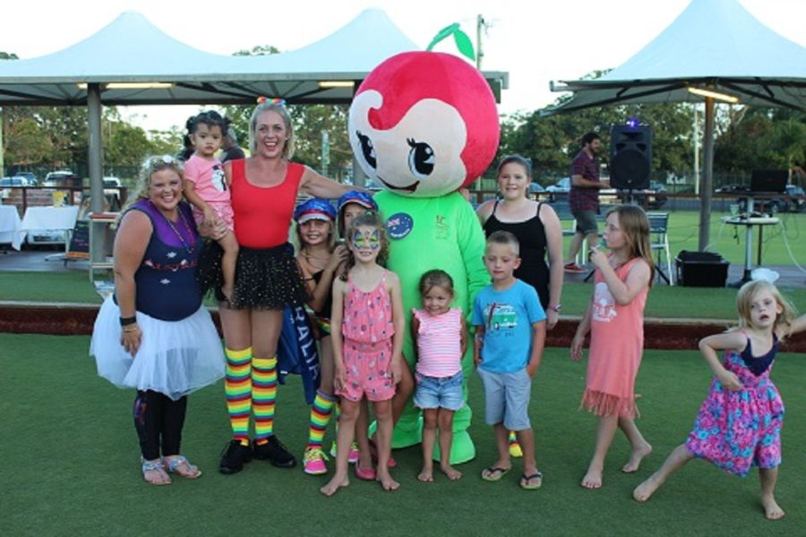 Cherry Street Sports - Little Cherry Mascot Party