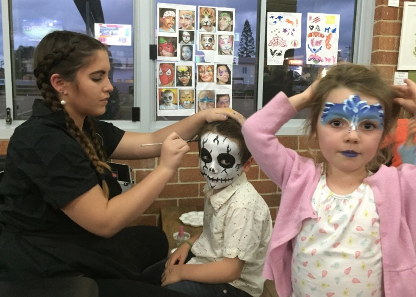 Club Lennox - Face Painting