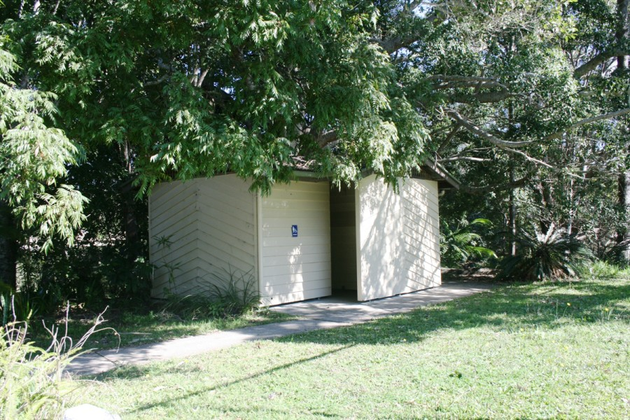 Heritage Park Walking Trail - Amenities Block - Mullumbimby