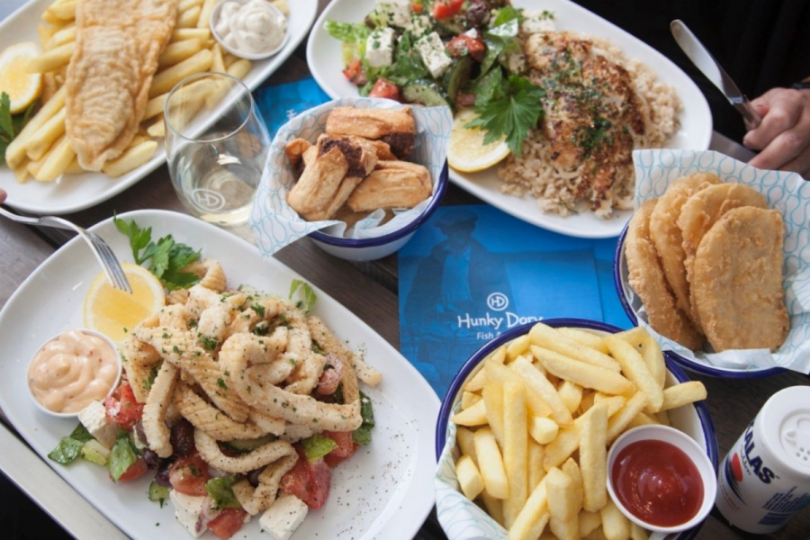 Hunky Dory Byron Bay - Selection from the menu