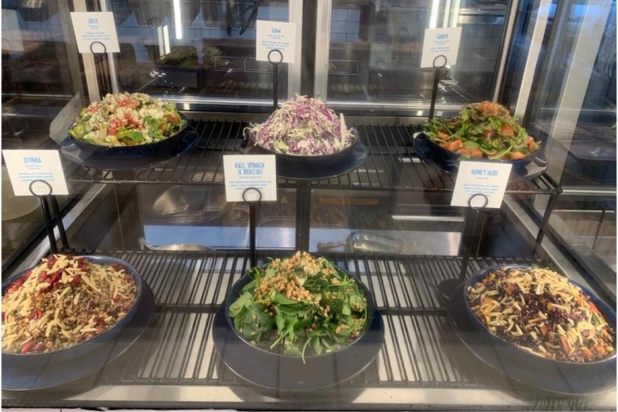 Hunky Dory Byron Bay - Salad Selection