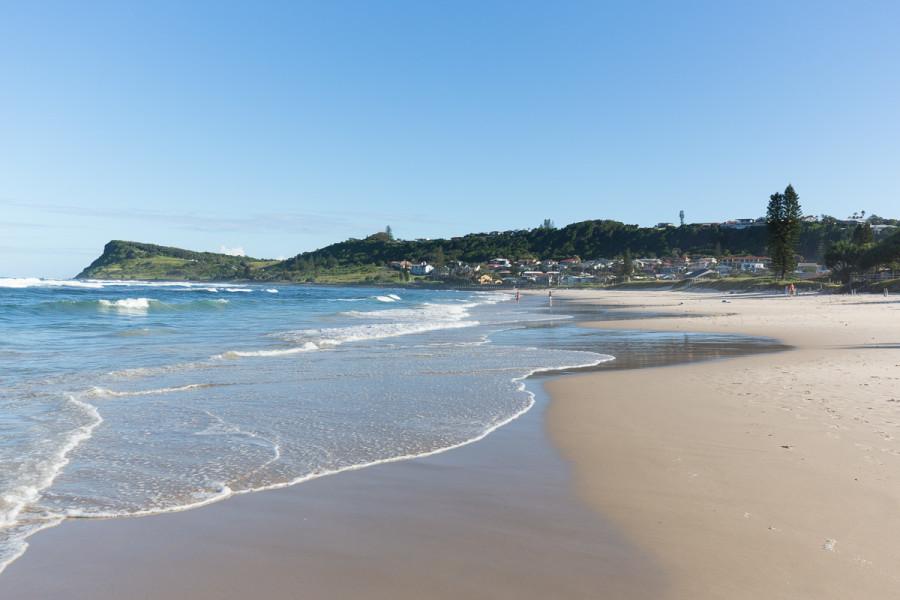 Lennox Head Beach