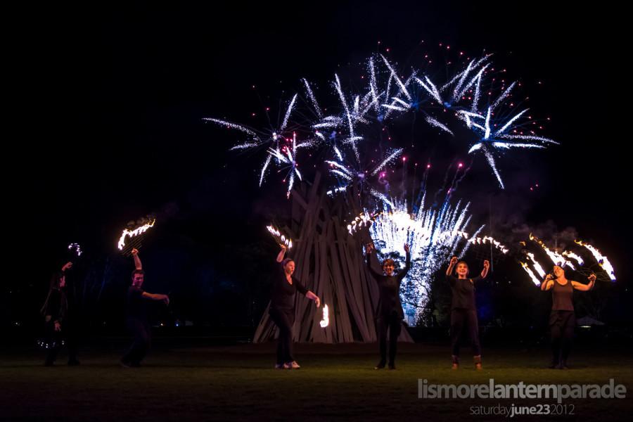 Lismore Lantern Parade - Fiery Finale