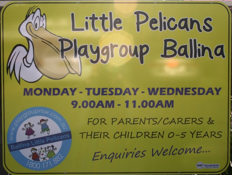 Little Pelicans Playgroup, Ballina