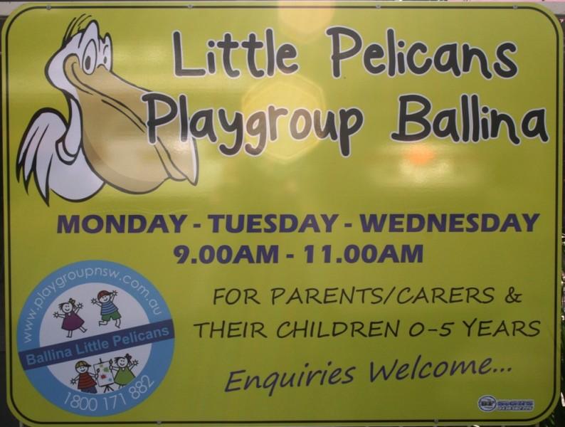 Little Pelicans Playgroup, Ballina