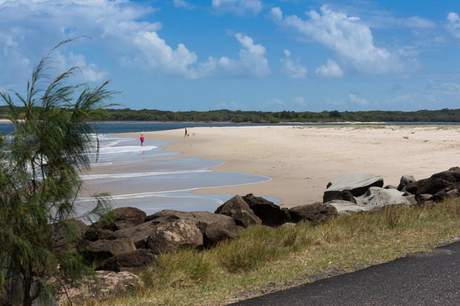 Beach adjacent to Missingham Park