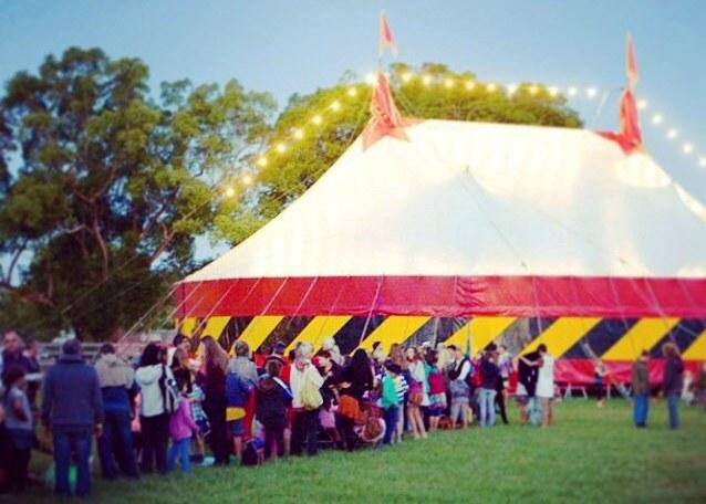 Big Top at Mullum Circus Festival