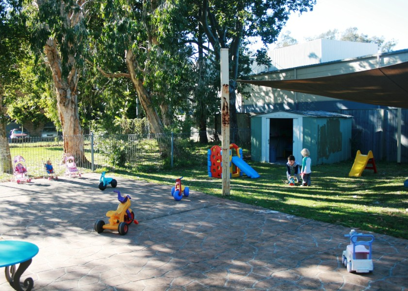 Play & Sing Playgroup - Outdoor Area