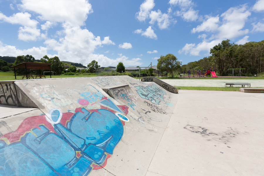 Suffolk Park Skatepark (Byron Bay NSW)