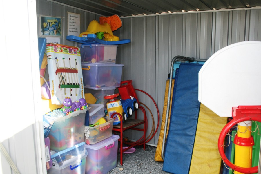 Suffolk Park Community Playgroup -Toy shed