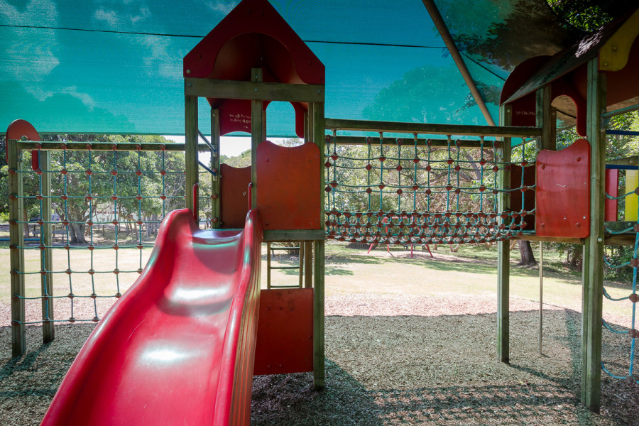Gaggin Park playground, Suffolk Park