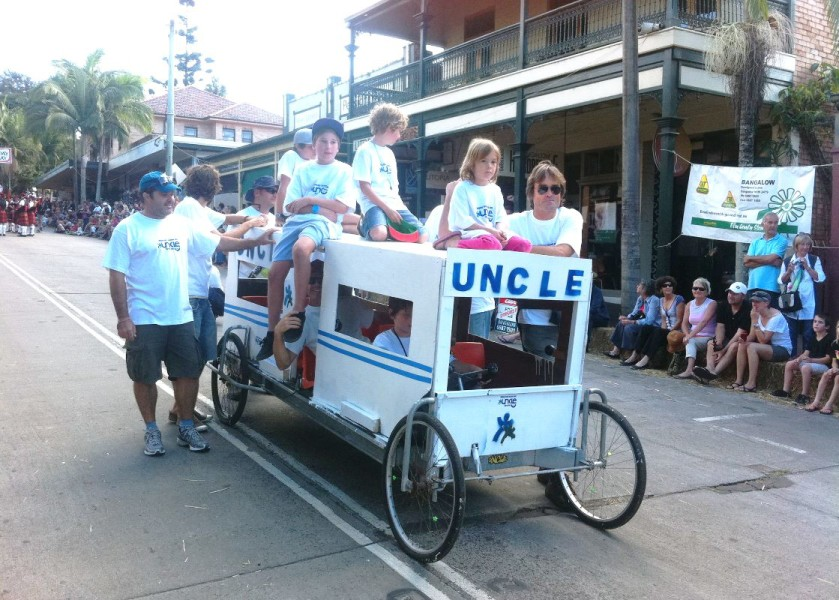 The Uncle Project Byron Bay - Billycart Race Day