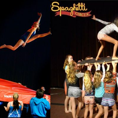 Spaghetti Circus School Holiday Classes