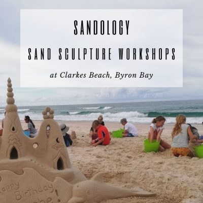 Sand Sculpting School Holiday Workshop