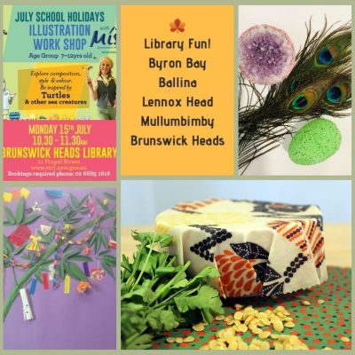 School Holiday Activities at local libraries
