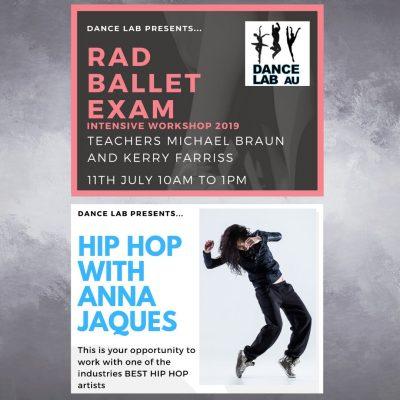 Dance Lab School Holiday Workshops