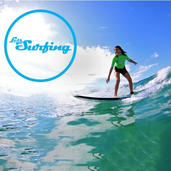 Let's Go Surfing Byron Bay
