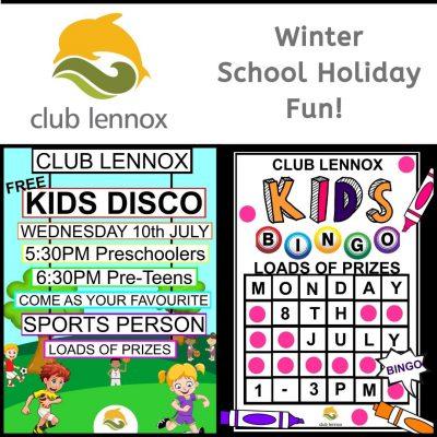 Club Lennox School Holiday Fun