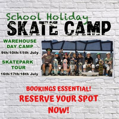Byron Bay Skateboard School Holiday Skate Camp