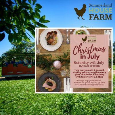 Summerland House Farm Christmas In July